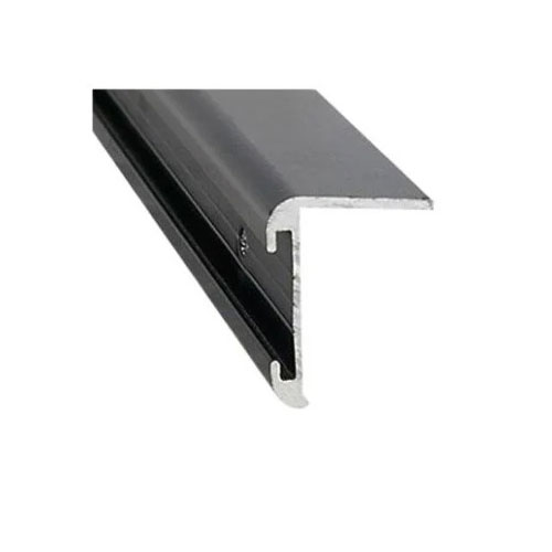 black 16' corner molding