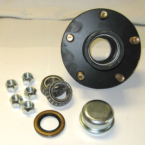 2000 lbs trailer idler hut kit with 5 bolt