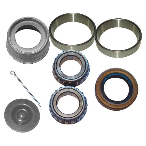 trailer wheel bearing kit for 2000 lbs axles