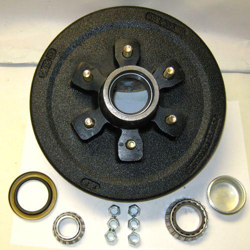 6 bolt trailer brake drum