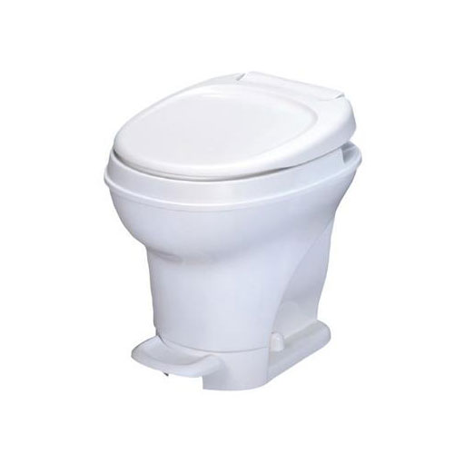 white foot flush toilet by thetford