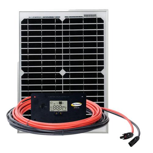 20 watt solar panel kit by gopower