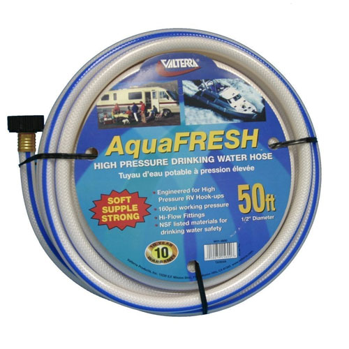 50' non-toxic drinking water hose