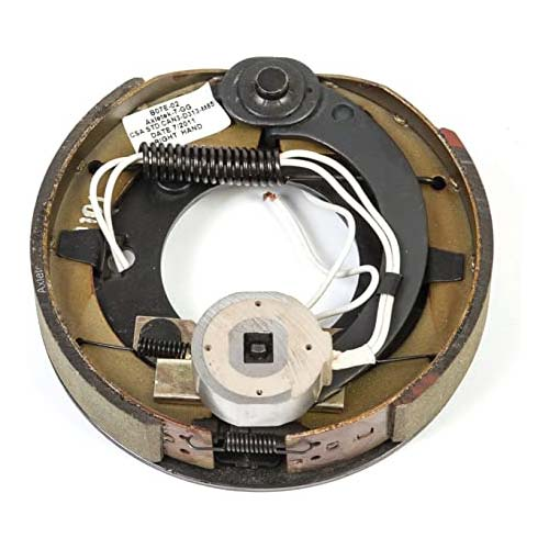 """7 1/4"""" electric brake assembly for 2k lbs axles"""
