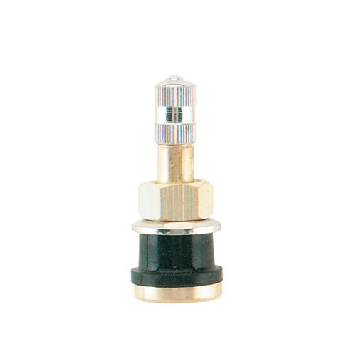 tr501 high pressure valve stem with metal base for heavy duty rims