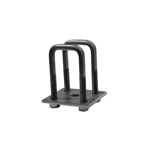 "2"" square u-bolt kit for trailer axle"